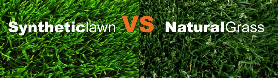 Fake vs. Real Grass