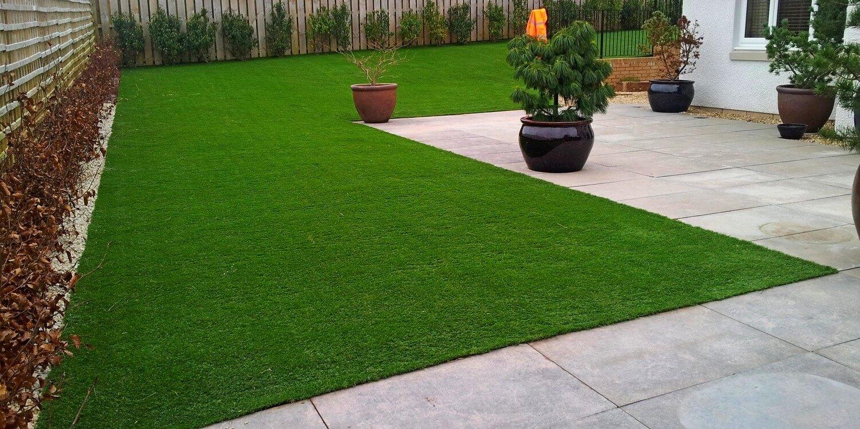 Fake Grass Lawn