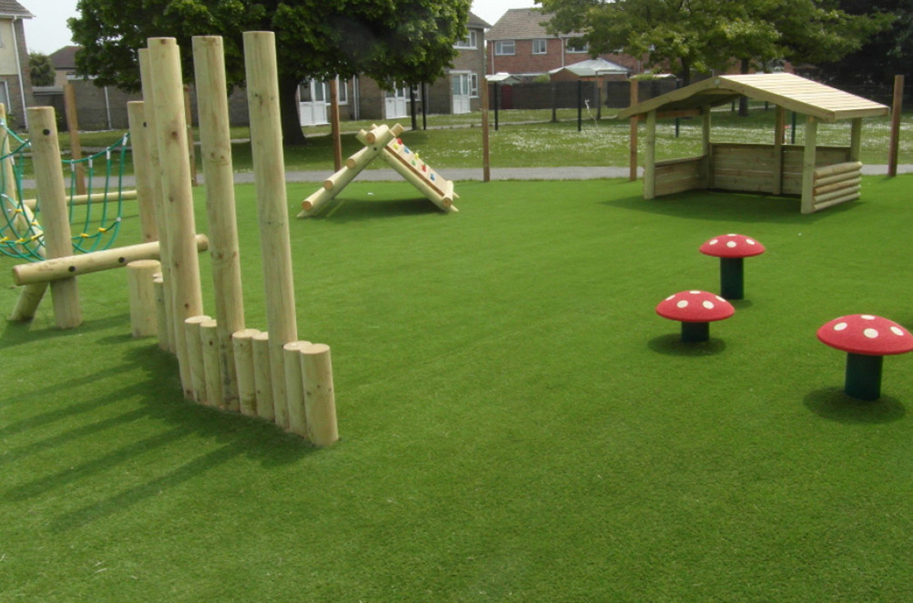 Fake Grass Playground